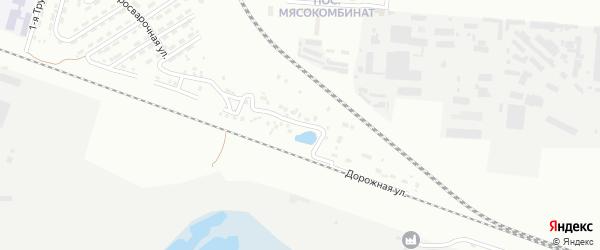 Улица Дорожная (ЧКПЗ) на карте Челябинска с номерами домов