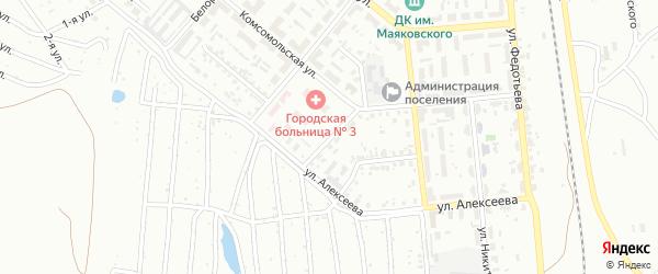 Переулок Полынова на карте Копейска с номерами домов