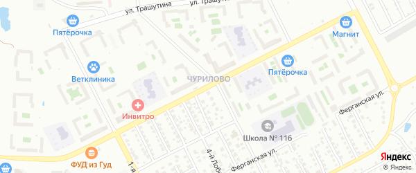 Улица Зальцмана на карте Челябинска с номерами домов