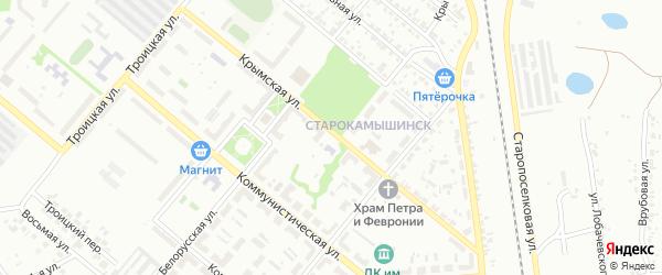 Крымская улица на карте Копейска с номерами домов