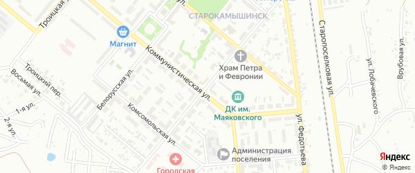 Улица Ушакова на карте Копейска с номерами домов
