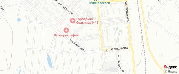 Переулок Митрушенко на карте Копейска с номерами домов