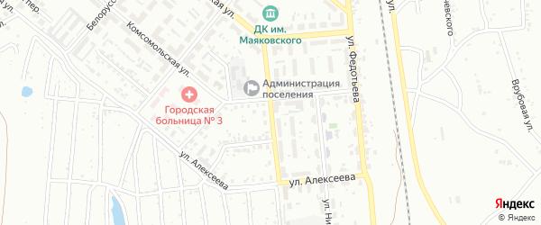 Улица Митрушенко на карте Копейска с номерами домов