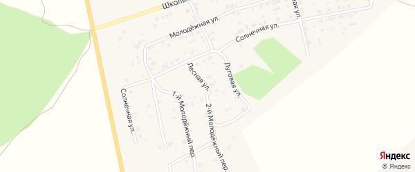 Луговая улица на карте Копейска с номерами домов
