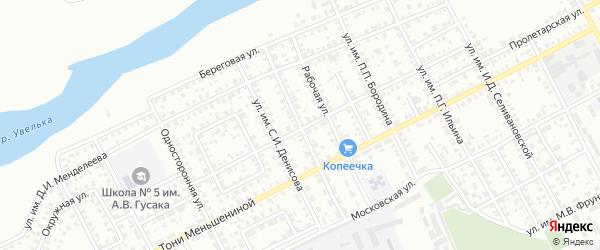 Улица им Зои Космодемьянской на карте Троицка с номерами домов