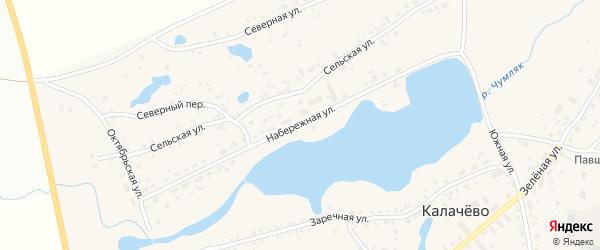 Набережная улица на карте Копейска с номерами домов