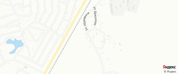 Улица Уборевича на карте Копейска с номерами домов