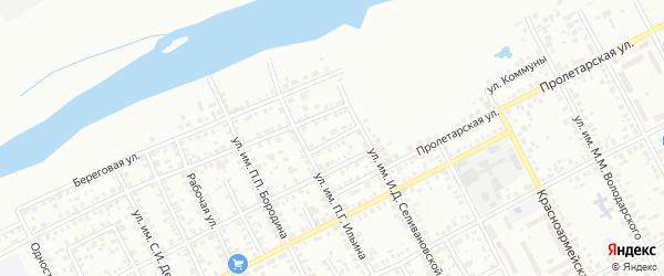 Улица им Н.Д.Томина на карте Троицка с номерами домов
