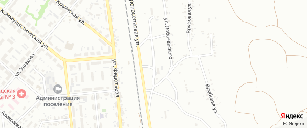 Старопоселковая улица на карте Копейска с номерами домов