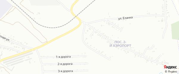 Ветровая улица на карте Челябинска с номерами домов
