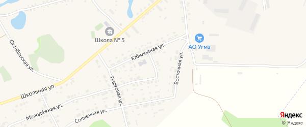 Советский переулок на карте села Калачево с номерами домов