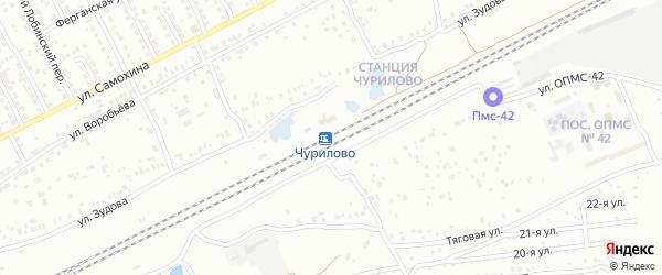 Станция Чурилово 30 км на карте Челябинска с номерами домов