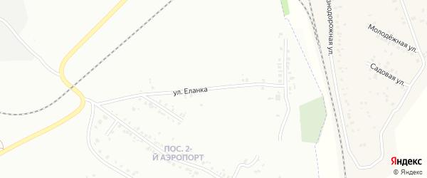 Улица Еланка на карте Челябинска с номерами домов