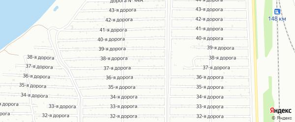 Тракторосад 3 на карте Челябинска с номерами домов