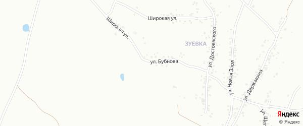 Улица Бубнова на карте Копейска с номерами домов