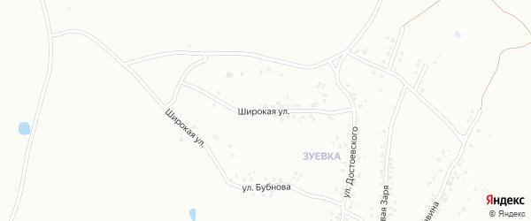 Широкая улица на карте Копейска с номерами домов
