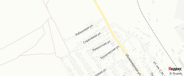 Сиреневая улица на карте Троицка с номерами домов
