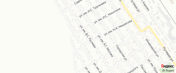 Улица им В.С.Русяева на карте Троицка с номерами домов