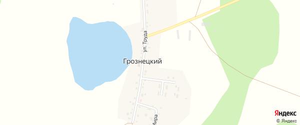 Улица Мира на карте Грознецкий поселка с номерами домов