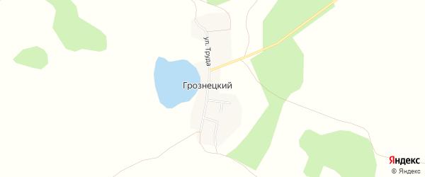 Карта Грознецкий поселка в Челябинской области с улицами и номерами домов