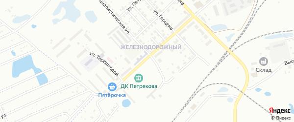 Электровозная улица на карте Копейска с номерами домов
