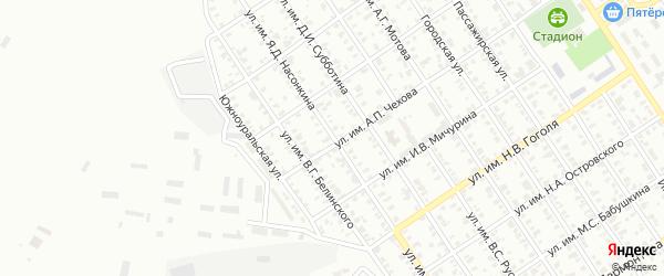 Улица им Я.Д.Насонкина на карте Троицка с номерами домов