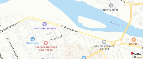 Сибирская улица на карте Троицка с номерами домов