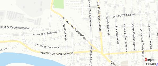 Улица им Я.В.Аппельбаума на карте Троицка с номерами домов