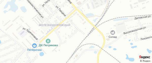 Кубинская улица на карте Копейска с номерами домов