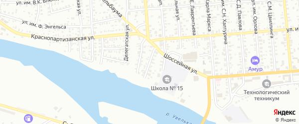 Улица им М.В.Ломоносова на карте Троицка с номерами домов