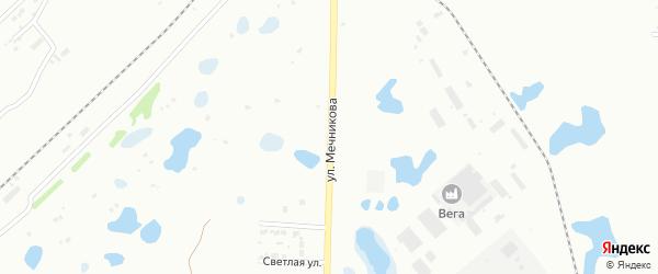 Улица Мечникова на карте Копейска с номерами домов