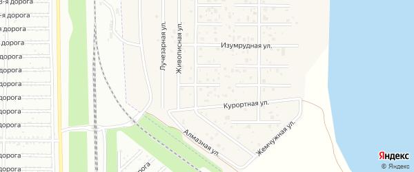 Грибной 2-й переулок на карте деревни Чурилово с номерами домов