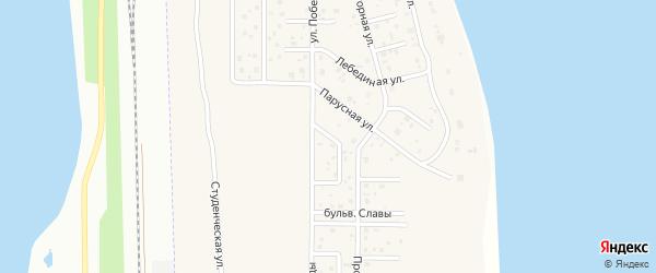 Радужный переулок на карте деревни Чурилово с номерами домов