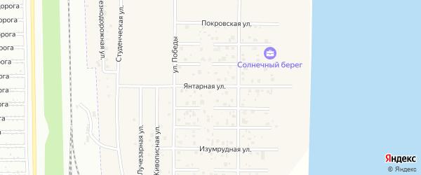 Янтарная улица на карте деревни Чурилово с номерами домов
