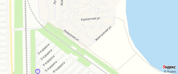 Жемчужная улица на карте деревни Чурилово с номерами домов