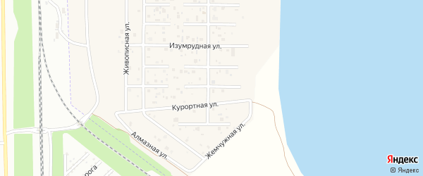 Грибной переулок на карте деревни Чурилово с номерами домов