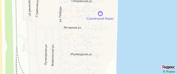 Футбольный 1-й переулок на карте деревни Чурилово с номерами домов
