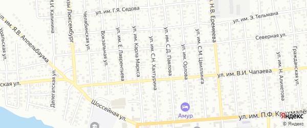 Улица им С.Н.Халтурина на карте Троицка с номерами домов