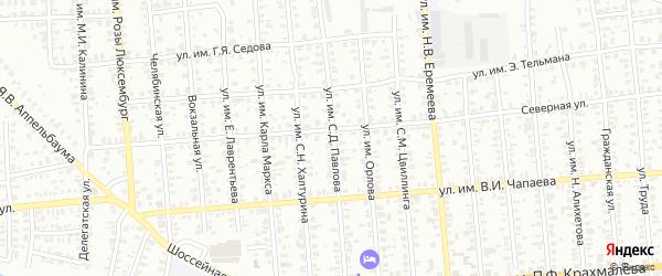 Улица им С.Д.Павлова на карте Троицка с номерами домов