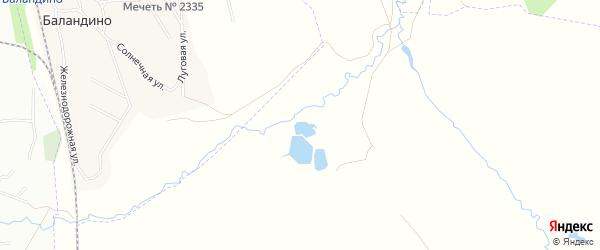 Карта Степного поселка в Челябинской области с улицами и номерами домов