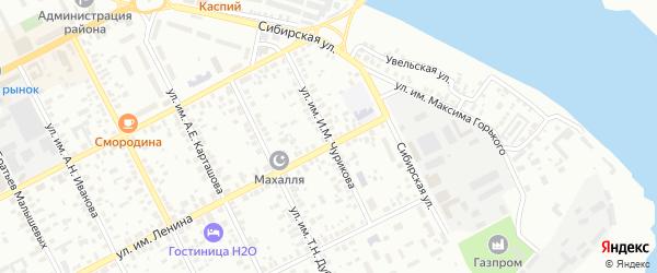 Улица им И.М.Чурикова на карте Троицка с номерами домов