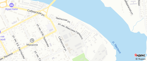 Улица им М.М.Расковой на карте Троицка с номерами домов