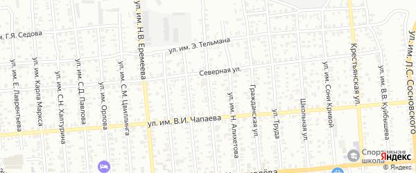 Вязовая улица на карте Троицка с номерами домов
