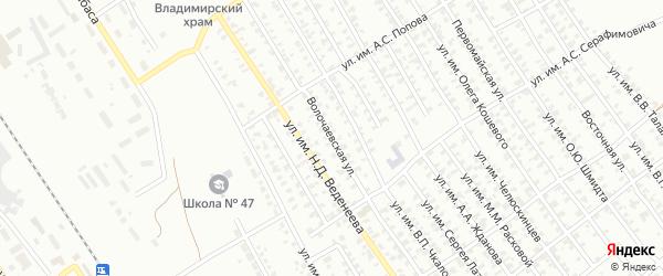 Волочаевская улица на карте Троицка с номерами домов