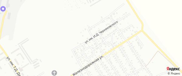 Улица им И.Д.Черняховского на карте Троицка с номерами домов