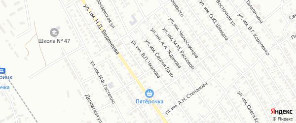 Переулок им В.П.Чкалова на карте Троицка с номерами домов