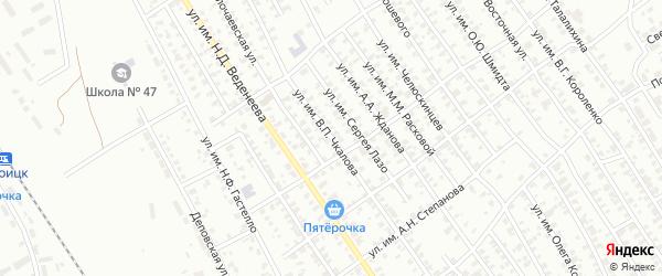 Улица им П.П.Бородина на карте Троицка с номерами домов