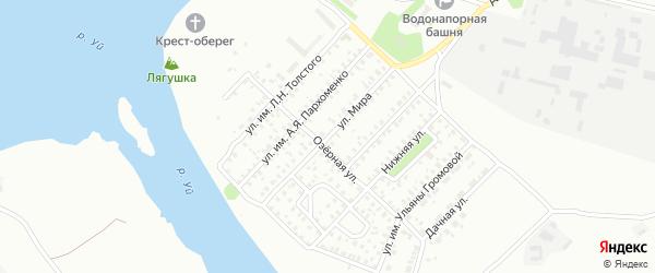 Улица Мира на карте Троицка с номерами домов