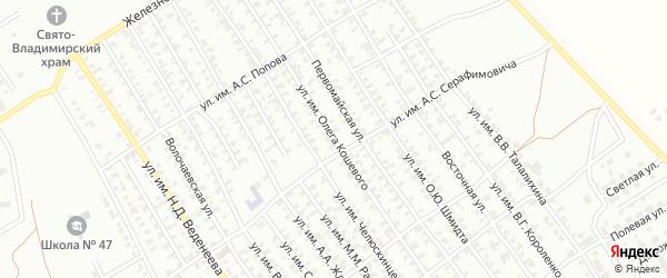 Улица им Олега Кошевого на карте Троицка с номерами домов