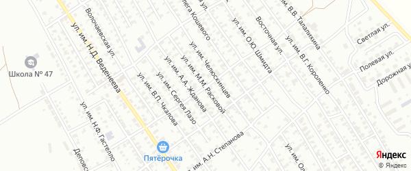 Улица им А.Н.Радищева на карте Троицка с номерами домов